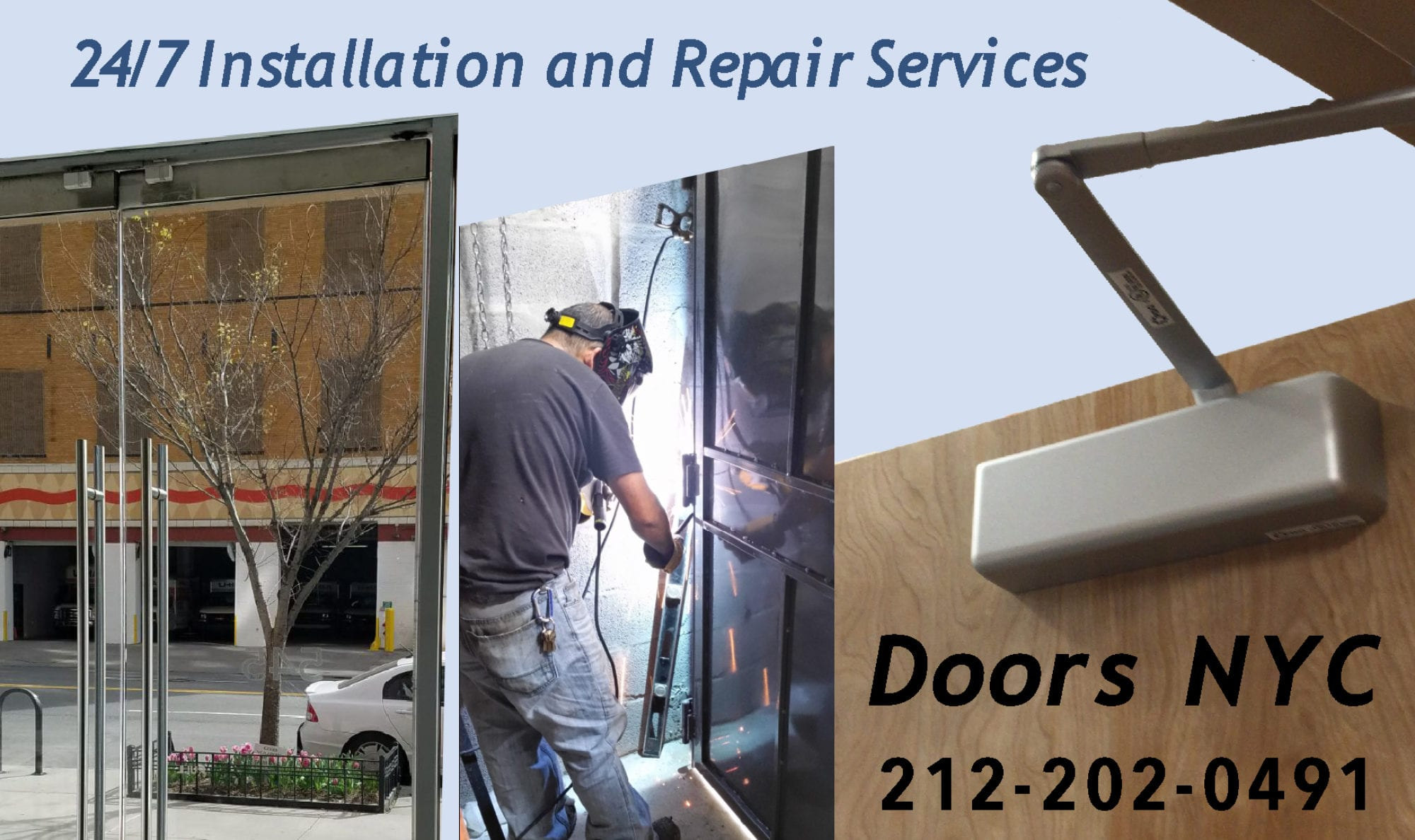 Commercial Doors NYC & Door Repair | NYC Doors and More