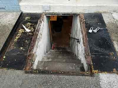 Sidewalk Cellar Door Nyc Doors And More